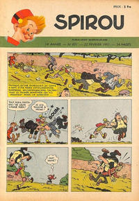 Cover Thumbnail for Spirou (Dupuis, 1947 series) #671