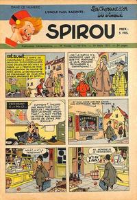 Cover Thumbnail for Spirou (Dupuis, 1947 series) #676
