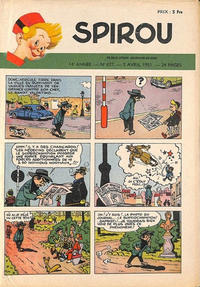 Cover Thumbnail for Spirou (Dupuis, 1947 series) #677