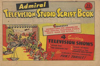 Cover Thumbnail for Admiral Studio Television Script Book (Admiral Television, 1948 series)