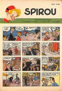 Cover Thumbnail for Spirou (Dupuis, 1947 series) #687