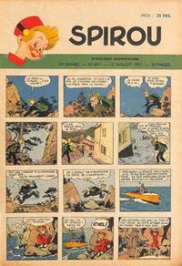 Cover Thumbnail for Spirou (Dupuis, 1947 series) #691