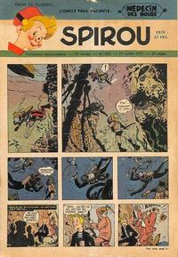 Cover Thumbnail for Spirou (Dupuis, 1947 series) #692