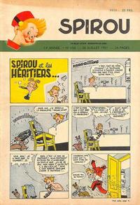Cover Thumbnail for Spirou (Dupuis, 1947 series) #693