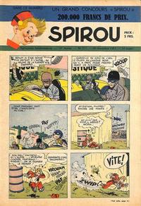 Cover Thumbnail for Spirou (Dupuis, 1947 series) #711