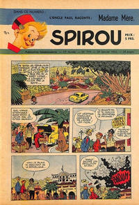 Cover Thumbnail for Spirou (Dupuis, 1947 series) #719