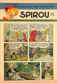Cover Thumbnail for Spirou (Dupuis, 1947 series) #725