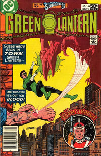 Cover Thumbnail for Green Lantern (DC, 1960 series) #144 [Newsstand]
