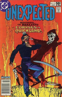 Cover Thumbnail for The Unexpected (DC, 1968 series) #212 [Newsstand]