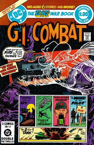 Cover for G.I. Combat (DC, 1957 series) #225 [Direct]
