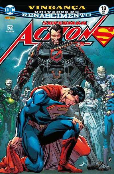 Cover for Action Comics (Panini Brasil, 2017 series) #13