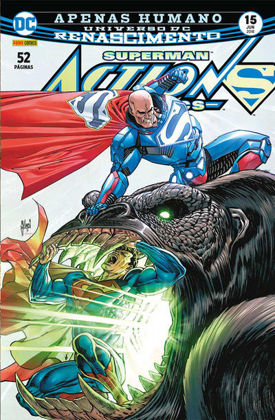Cover for Action Comics (Panini Brasil, 2017 series) #15