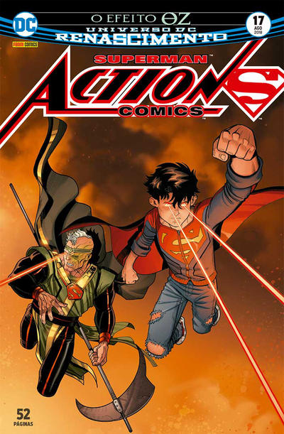 Cover for Action Comics (Panini Brasil, 2017 series) #17