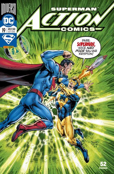 Cover for Action Comics (Panini Brasil, 2017 series) #19