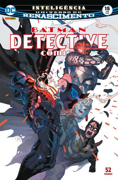 Cover for Detective Comics (Panini Brasil, 2017 series) #15
