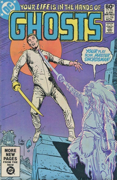 Cover for Ghosts (DC, 1971 series) #106 [Newsstand]