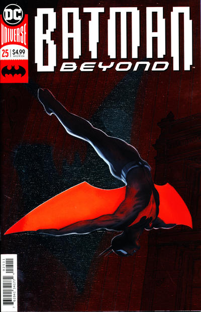 Cover for Batman Beyond (DC, 2016 series) #25 [Dave Johnson Cover]