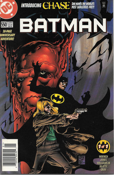 Cover for Batman (DC, 1940 series) #550 [Standard Edition - Direct Sales]