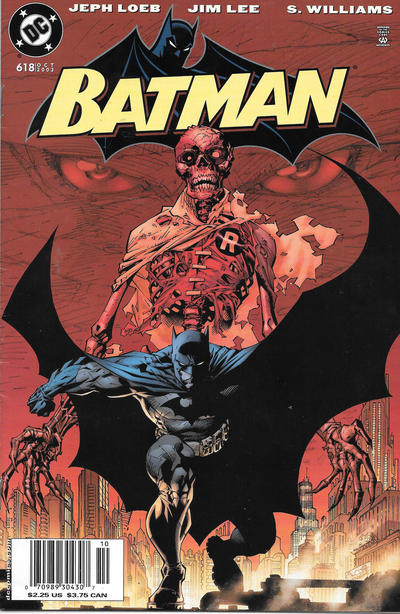 Cover for Batman (DC, 1940 series) #618