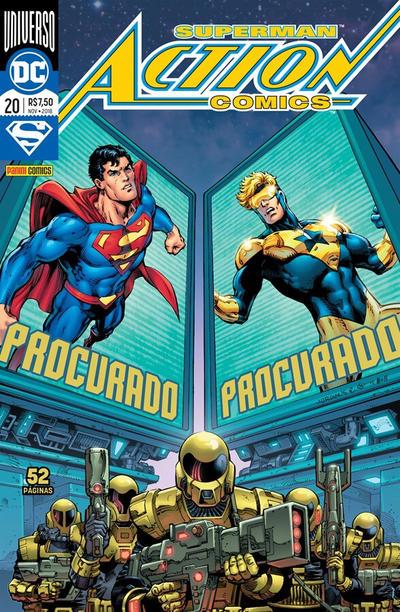Cover for Action Comics (Panini Brasil, 2017 series) #20