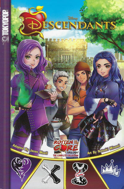 Cover for Disney Descendants - The Rotten to the Core Trilogy: The Complete Collection (Tokyopop, 2018 series)