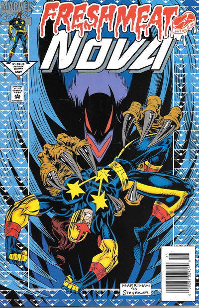 Cover for Nova (Marvel, 1994 series) #5 [Newsstand]