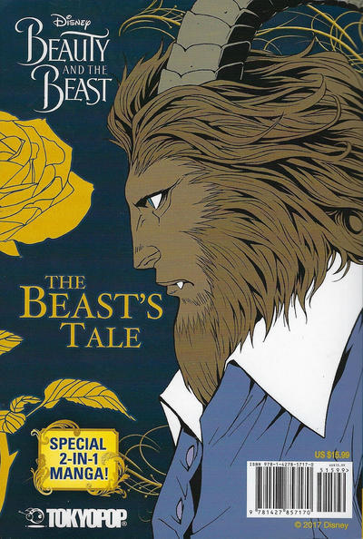 Cover for Disney Beauty and the Beast: Special 2-in-1 Manga (Tokyopop, 2017 series)