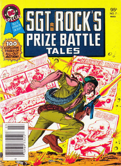 Cover for DC Special Blue Ribbon Digest (DC, 1980 series) #7 [Newsstand]