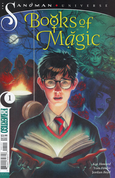 Cover for Books of Magic (DC, 2018 series) #1