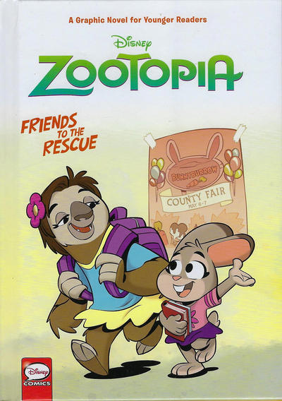 Cover for Zootopia: Friends to the Rescue (Dark Horse, 2018 series)