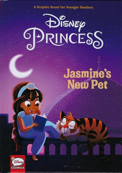 Cover for Disney Princess: Jasmine's New Pet (Dark Horse, 2018 series)