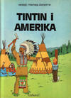 Cover for Tintins äventyr (Carlsen/if [SE], 1972 series) #19 - Tintin i Amerika