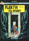 Cover for Tintins äventyr (Nordisk bok, 1984 ? series) #T-061; [246] - Plan 714 till Sydney