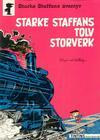 Cover for Starke Staffans äventyr (Nordisk bok, 1985 series) #T-077 [268] - Starke Staffans tolv storverk