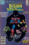 Cover for Tales of the Legion of Super-Heroes Annual (DC, 1986 series) #4 [Newsstand]