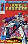 Cover for Transformers (Atlantic Förlags AB, 1987 series) #2/1987