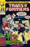 Cover for Transformers (Atlantic Förlags AB, 1987 series) #4/1987