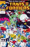 Cover for Transformers (Atlantic Förlags AB, 1987 series) #12/1988
