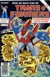 Cover for Transformers (Atlantic Förlags AB, 1987 series) #6/1989