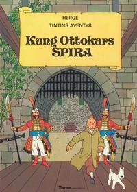 Cover Thumbnail for Tintins äventyr (Nordisk bok, 1984 ? series) #T-025 [203] - Kung Ottokars spira