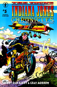 Cover Thumbnail for The Young Indiana Jones Chronicles (Dark Horse, 1992 series) #5