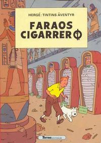 Cover Thumbnail for Tintins äventyr (Nordisk bok, 1984 ? series) #T-033b; [212] - Faraos cigarrer