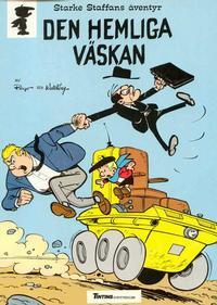 Cover Thumbnail for Starke Staffans äventyr (Nordisk bok, 1985 series) #T-040 [217] - Den hemliga väskan