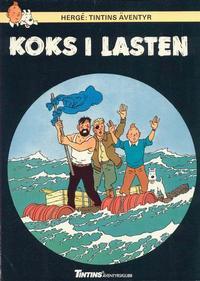 Cover Thumbnail for Tintins äventyr (Nordisk bok, 1984 ? series) #T-041; [223] - Koks i lasten