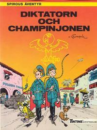 Cover Thumbnail for Spirous äventyr (Nordisk bok, 1984 series) #T-043 [225] - Diktatorn och champinjonen