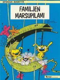 Cover Thumbnail for Spirous äventyr (Nordisk bok, 1984 series) #T-047 [230] - Familjen Marsupilami