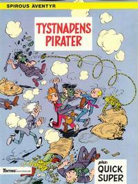 Cover Thumbnail for Spirous äventyr (Nordisk bok, 1984 series) #T-051A [234] - Tystnadens pirater