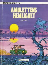 Cover Thumbnail for Spirous äventyr (Nordisk bok, 1984 series) #[248] - Amulettens hemlighet