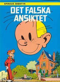 Cover Thumbnail for Spirous äventyr (Nordisk bok, 1984 series) #[249] - Det falska ansiktet