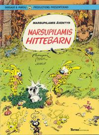 Cover Thumbnail for Marsupilamis äventyr (Nordisk bok, 1988 series) #T-063B [250] - Marsupilamis hittebarn
